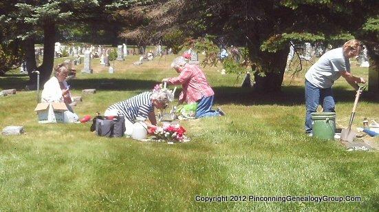 St. Agnes Cemetery Restoration Summer 2012